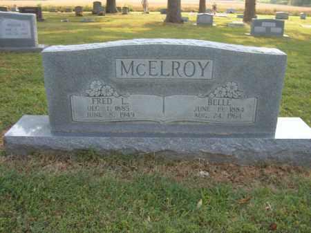MCELROY, FRED L - Cross County, Arkansas | FRED L MCELROY - Arkansas Gravestone Photos