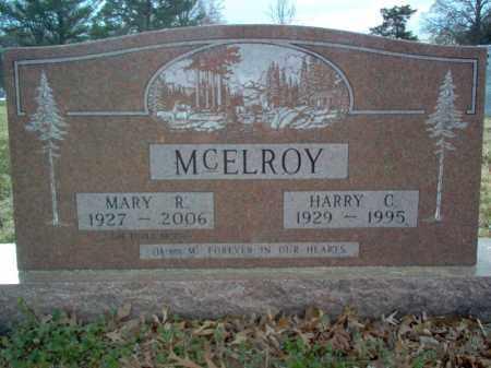 MCELROY, MARY R - Cross County, Arkansas | MARY R MCELROY - Arkansas Gravestone Photos