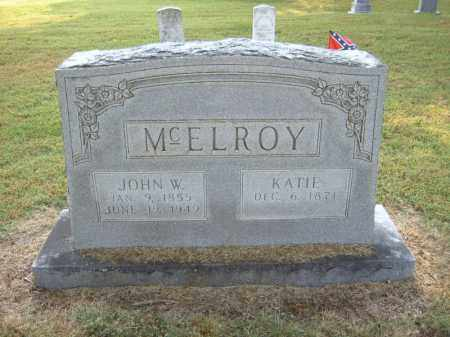 MCELROY, KATIE - Cross County, Arkansas | KATIE MCELROY - Arkansas Gravestone Photos