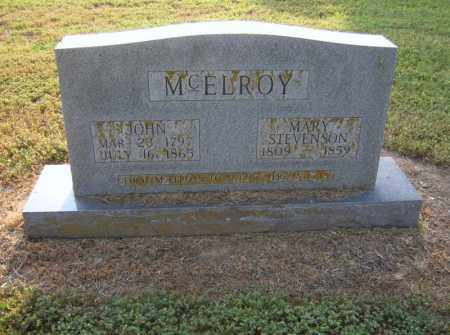 STEVENSON MCELROY, MARY - Cross County, Arkansas | MARY STEVENSON MCELROY - Arkansas Gravestone Photos