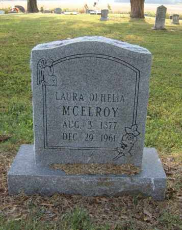 MCELROY, LAURA OPHELIA - Cross County, Arkansas | LAURA OPHELIA MCELROY - Arkansas Gravestone Photos