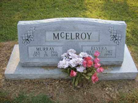 MCELROY, MURRAY - Cross County, Arkansas | MURRAY MCELROY - Arkansas Gravestone Photos