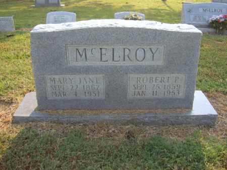 MCELROY, MARY JANE - Cross County, Arkansas | MARY JANE MCELROY - Arkansas Gravestone Photos