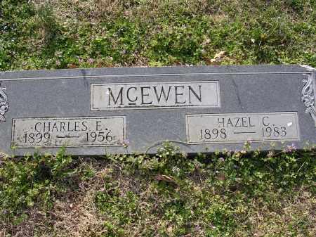 MCEWEN, CHARLES E - Cross County, Arkansas | CHARLES E MCEWEN - Arkansas Gravestone Photos