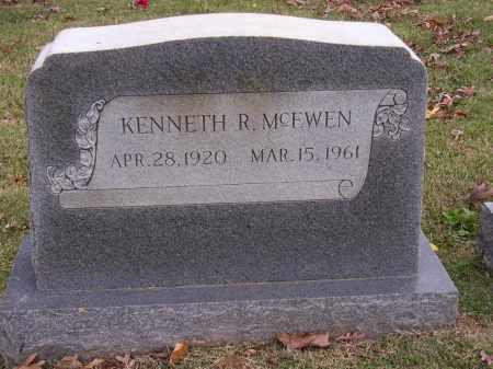 MCEWEN, KENNETH R - Cross County, Arkansas | KENNETH R MCEWEN - Arkansas Gravestone Photos