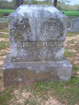 MCFARLAND, JOHN H - Cross County, Arkansas   JOHN H MCFARLAND - Arkansas Gravestone Photos