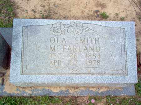 SMITH MCFARLAND, OLA - Cross County, Arkansas | OLA SMITH MCFARLAND - Arkansas Gravestone Photos