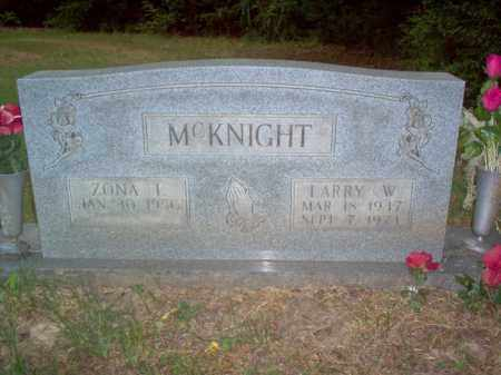 MCKNIGHT, SR., LARRY WALLACE - Cross County, Arkansas | LARRY WALLACE MCKNIGHT, SR. - Arkansas Gravestone Photos