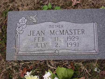 MCMASTER, JEAN LAVERNE - Cross County, Arkansas | JEAN LAVERNE MCMASTER - Arkansas Gravestone Photos