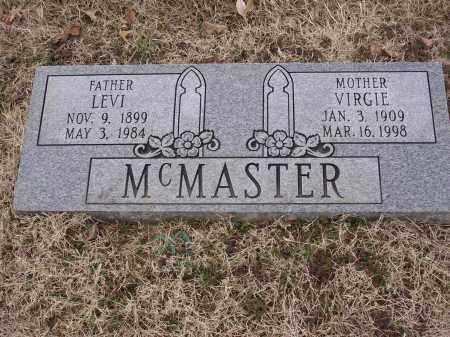 MCMASTER, LEVI - Cross County, Arkansas   LEVI MCMASTER - Arkansas Gravestone Photos