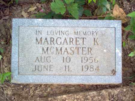 MCMASTER, MARGARET K - Cross County, Arkansas | MARGARET K MCMASTER - Arkansas Gravestone Photos