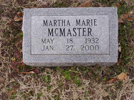MCMASTER, MARTHA MARIE - Cross County, Arkansas | MARTHA MARIE MCMASTER - Arkansas Gravestone Photos