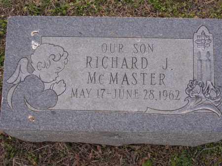 MCMASTER, RICHARD J - Cross County, Arkansas | RICHARD J MCMASTER - Arkansas Gravestone Photos