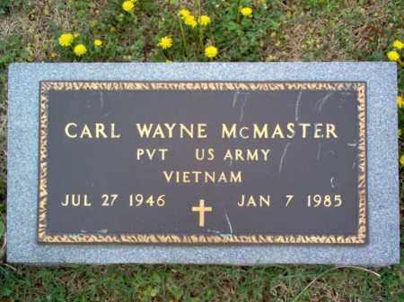 MCMASTER (VETERAN VIET), CARL WAYNE - Cross County, Arkansas | CARL WAYNE MCMASTER (VETERAN VIET) - Arkansas Gravestone Photos