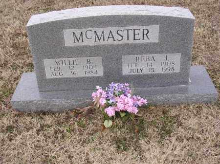 MCMASTER, REBA IRENE - Cross County, Arkansas | REBA IRENE MCMASTER - Arkansas Gravestone Photos