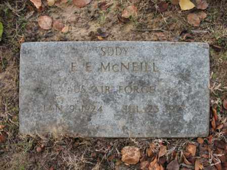 "MCNEILL (VETERAN), E E ""SODY"" - Cross County, Arkansas | E E ""SODY"" MCNEILL (VETERAN) - Arkansas Gravestone Photos"