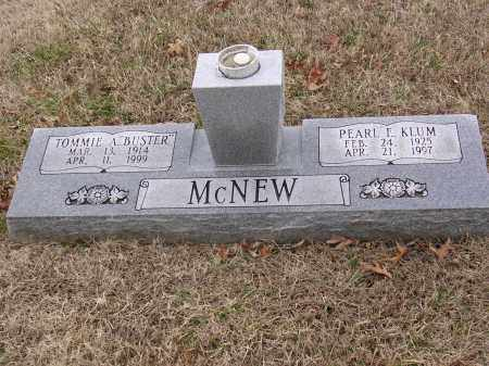 """MCNEW, TOMMIE A """"BUSTER"""" - Cross County, Arkansas 