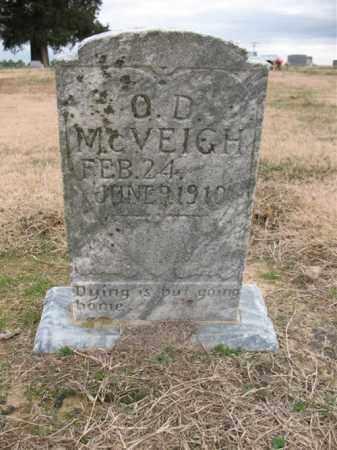 MCVEIGH, O D - Cross County, Arkansas | O D MCVEIGH - Arkansas Gravestone Photos