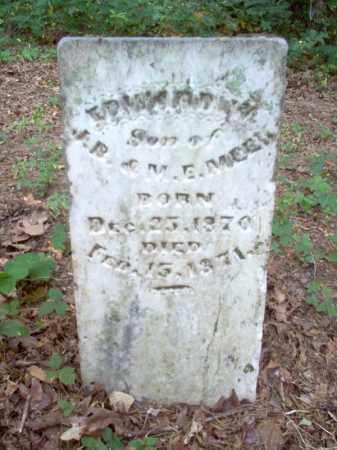 MEEK, EDWARD W - Cross County, Arkansas | EDWARD W MEEK - Arkansas Gravestone Photos