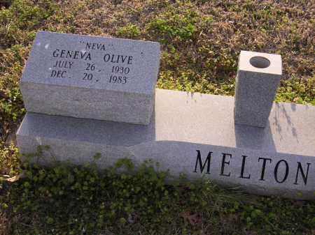 "MELTON, GENEVA OLIVE ""NEVA"" - Cross County, Arkansas 