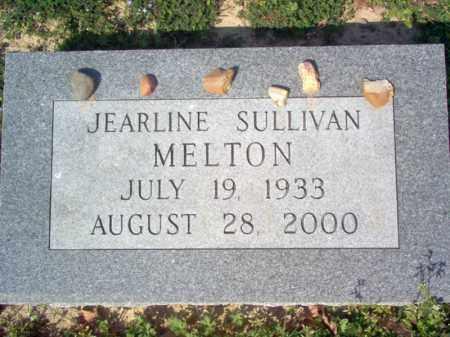 SULLIVAN MELTON, JEARLINE - Cross County, Arkansas | JEARLINE SULLIVAN MELTON - Arkansas Gravestone Photos