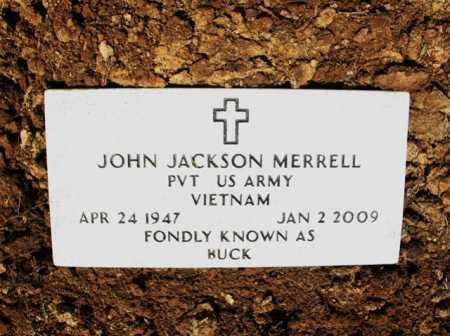 "MERRELL (VETERAN VIET), JOHN JACKSON ""BUCK"" - Cross County, Arkansas | JOHN JACKSON ""BUCK"" MERRELL (VETERAN VIET) - Arkansas Gravestone Photos"