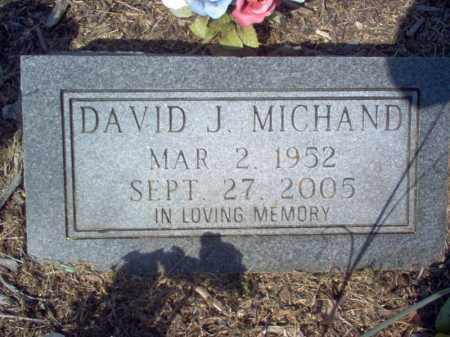 MICHAND, DAVID J - Cross County, Arkansas | DAVID J MICHAND - Arkansas Gravestone Photos