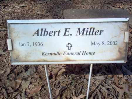 MILLER, ALBERT E - Cross County, Arkansas | ALBERT E MILLER - Arkansas Gravestone Photos