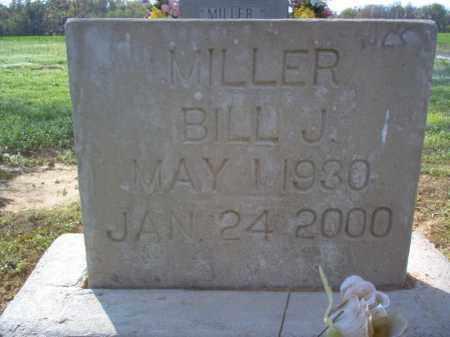 MILLER, BILL J - Cross County, Arkansas | BILL J MILLER - Arkansas Gravestone Photos