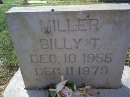 MILLER, BILLY T - Cross County, Arkansas | BILLY T MILLER - Arkansas Gravestone Photos
