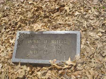 MILLER, DOVIE H - Cross County, Arkansas | DOVIE H MILLER - Arkansas Gravestone Photos