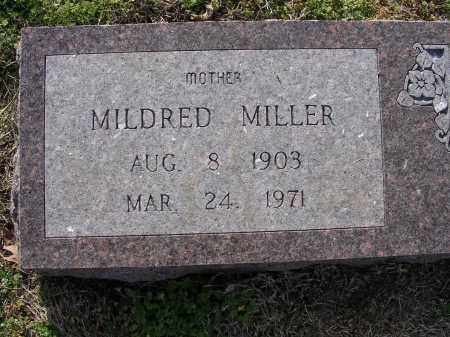 MILLER, MILDRED - Cross County, Arkansas | MILDRED MILLER - Arkansas Gravestone Photos