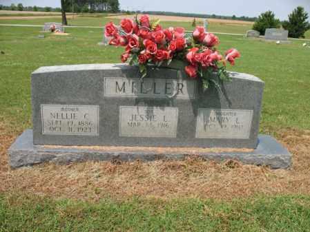 MILLER, NELLIE C - Cross County, Arkansas | NELLIE C MILLER - Arkansas Gravestone Photos