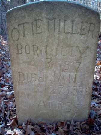 MILLER, OTIE - Cross County, Arkansas | OTIE MILLER - Arkansas Gravestone Photos