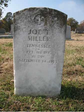 MILLER (VETERAN), JOE T - Cross County, Arkansas | JOE T MILLER (VETERAN) - Arkansas Gravestone Photos