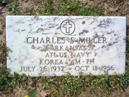 MILLER (VETERAN KOR), CHARLES S - Cross County, Arkansas | CHARLES S MILLER (VETERAN KOR) - Arkansas Gravestone Photos