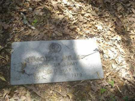 MILLER (VETERAN WWII), TIMOTHY - Cross County, Arkansas | TIMOTHY MILLER (VETERAN WWII) - Arkansas Gravestone Photos