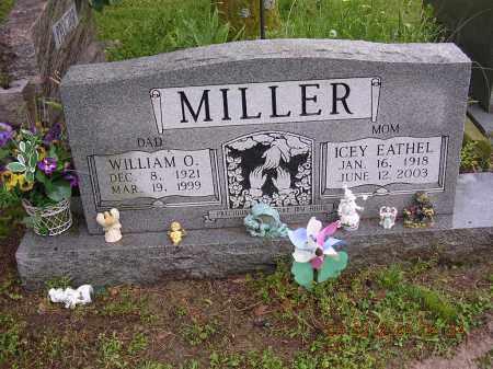 MILLER, ICEY EATHEL - Cross County, Arkansas | ICEY EATHEL MILLER - Arkansas Gravestone Photos