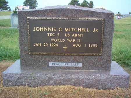 MITCHELL, JR (VETERAN WWII), JOHNNIE C - Cross County, Arkansas | JOHNNIE C MITCHELL, JR (VETERAN WWII) - Arkansas Gravestone Photos