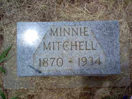 MITCHELL, MINNIE - Cross County, Arkansas | MINNIE MITCHELL - Arkansas Gravestone Photos