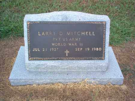 MITCHELL (VETERAN WWII), LARRY D - Cross County, Arkansas | LARRY D MITCHELL (VETERAN WWII) - Arkansas Gravestone Photos