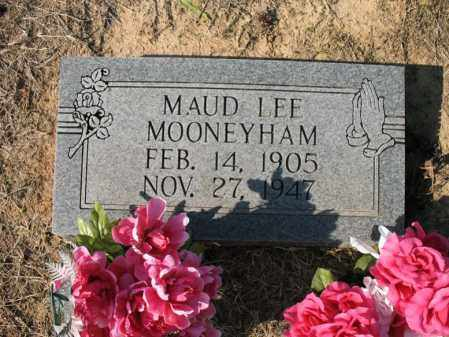 MOONEYHAM, MAUD LEE - Cross County, Arkansas | MAUD LEE MOONEYHAM - Arkansas Gravestone Photos