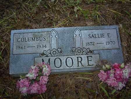 MOORE, COLUMBUS - Cross County, Arkansas | COLUMBUS MOORE - Arkansas Gravestone Photos