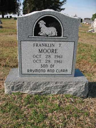 MOORE, FRANKLIN T - Cross County, Arkansas   FRANKLIN T MOORE - Arkansas Gravestone Photos