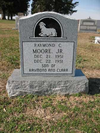MOORE, JR., RAYMOND C - Cross County, Arkansas | RAYMOND C MOORE, JR. - Arkansas Gravestone Photos