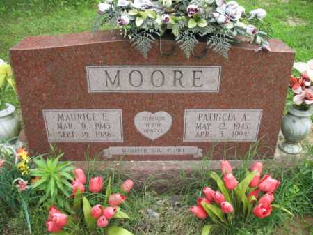 MOORE, MAURICE E - Cross County, Arkansas | MAURICE E MOORE - Arkansas Gravestone Photos