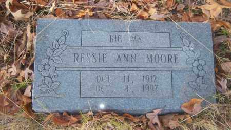 MOORE, RESSIE ANN - Cross County, Arkansas | RESSIE ANN MOORE - Arkansas Gravestone Photos