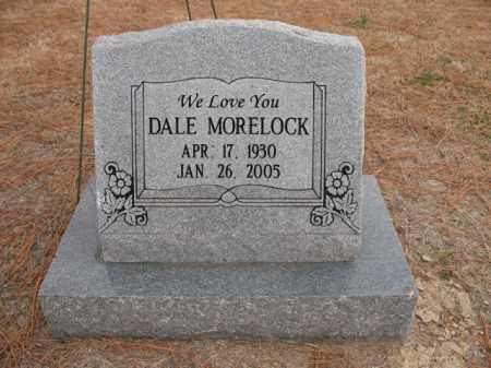MORELOCK, DALE - Cross County, Arkansas   DALE MORELOCK - Arkansas Gravestone Photos