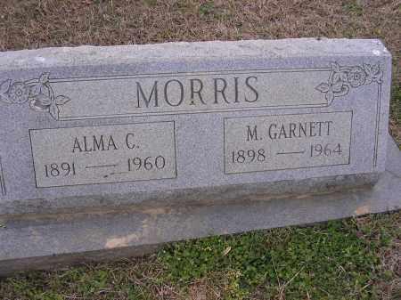 MORRIS, M GARNETT - Cross County, Arkansas | M GARNETT MORRIS - Arkansas Gravestone Photos