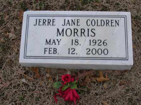 COLDREN MORRIS, JERRE JANE - Cross County, Arkansas | JERRE JANE COLDREN MORRIS - Arkansas Gravestone Photos
